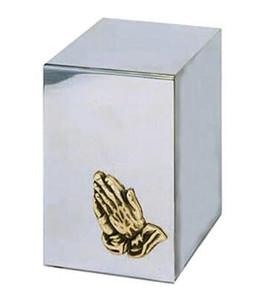 Praying Hands Reflection Urn