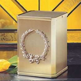 Classic Wreath Cremation Urn