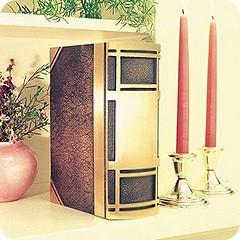 Classic Bronze Book Cremation Urn
