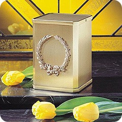 Classic Wreath Cremation Urn-Small