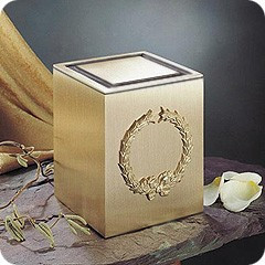 Guardian Wreath Cremation Urn