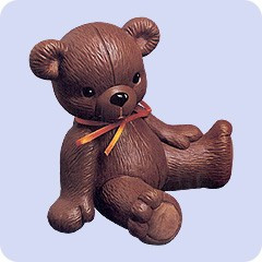 Ceramic Teddy Bear Cremation Urn