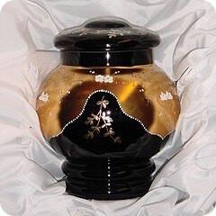 Aurora Glass Urn