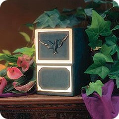 Artisan and Dove Bronze Cremation Urn
