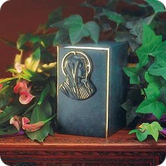 Artisan and Mary Bronze Cremation Urn