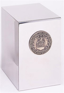 Stainless Steel Air Force Urn
