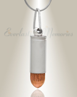 Forever Collection Bullet with Copper Tip Memorial Jewelry