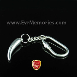 Forever Collection Silver Ardor Keychain Memorial Jewelry