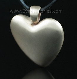 Bronze Heart Cremation Jewelry Urn