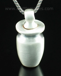 Sterling Silver Small Urn Cremation Urn Keepsake