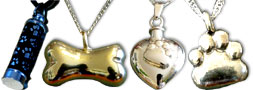 Miscellaneous Pet Cremation Jewelry