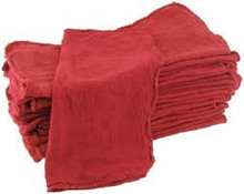 New red shop towels