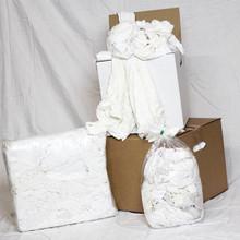 White t-shirt 25lb. Box
