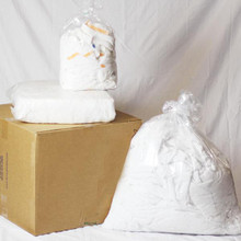 Recycled White Terry 25lb. Box
