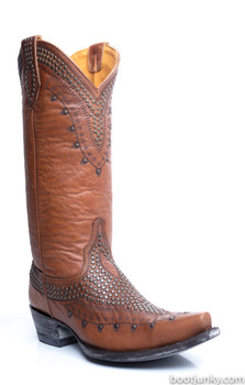 "L2180-3-SS OLD GRINGO KILLER 13"" TAN COWGIRL BOOTS"
