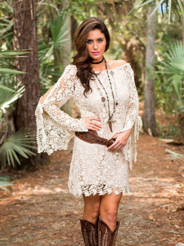 Bronte Collection Spring 2017 Blake Natural Lacy Dress