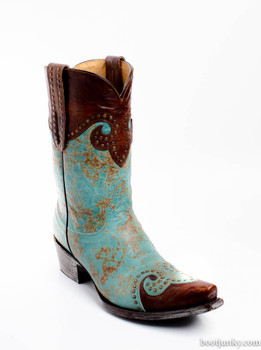 "YL 023-11-RR OLD GRINGO CAROLINE 10"" ANKLE BOOTS BY YIPPEE KI YAY"