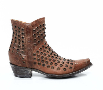 """BL1912-2-RR OLD GRINGO """"OJITOS"""" ORYX LEATHER ANKLE BOOTS"""