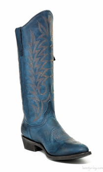 "L 340-145 OLD GRINGO RAZZ BLUE 13"" COWGIRL BOOTS"