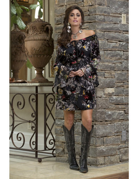 06. BRONTE COLLECTION SABRINA MULTI PRINT TUNIC DRESS