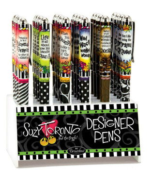 Suzy Toronto Sparkling Rollerball Pen
