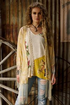 Double D Ranchwear Luna Moth Kimono Spring Summer 2017