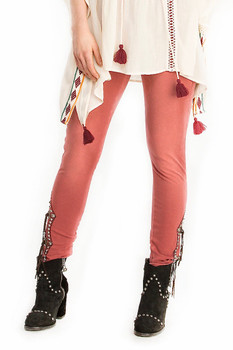 Double D Ranch Rusty Ravine Jegging - Rust
