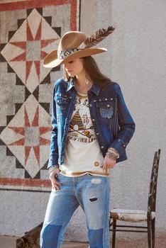 Double D Ranchwear Blue Canyon Jacket