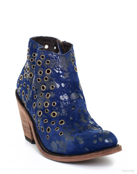 LB712326J  Liberty Black Cece Pisa Russian Blue Ankle Boots