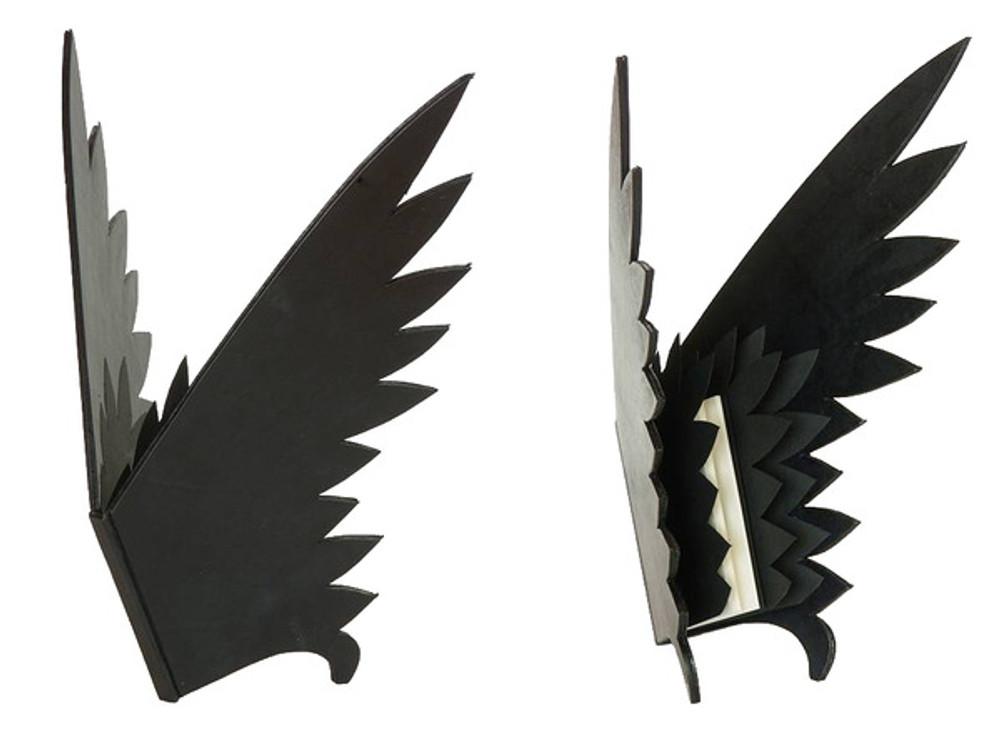 The Raven by Edgar Allan Poe, Unique Fine Binding/Sculpture by Richard Tuttle