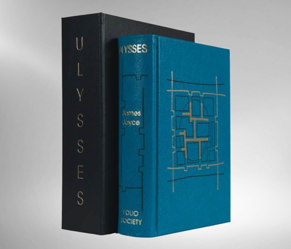 Ulysses by James Joyce with Etchings by Palladino, Leather Bound Limited Edition