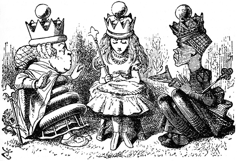 alice in wonderland and through the Chapter 12: alice's evidence characters see a complete list of the characters in alice's adventures in wonderland and in-depth analyses of alice, the cheshire cat, and the queen of hearts.