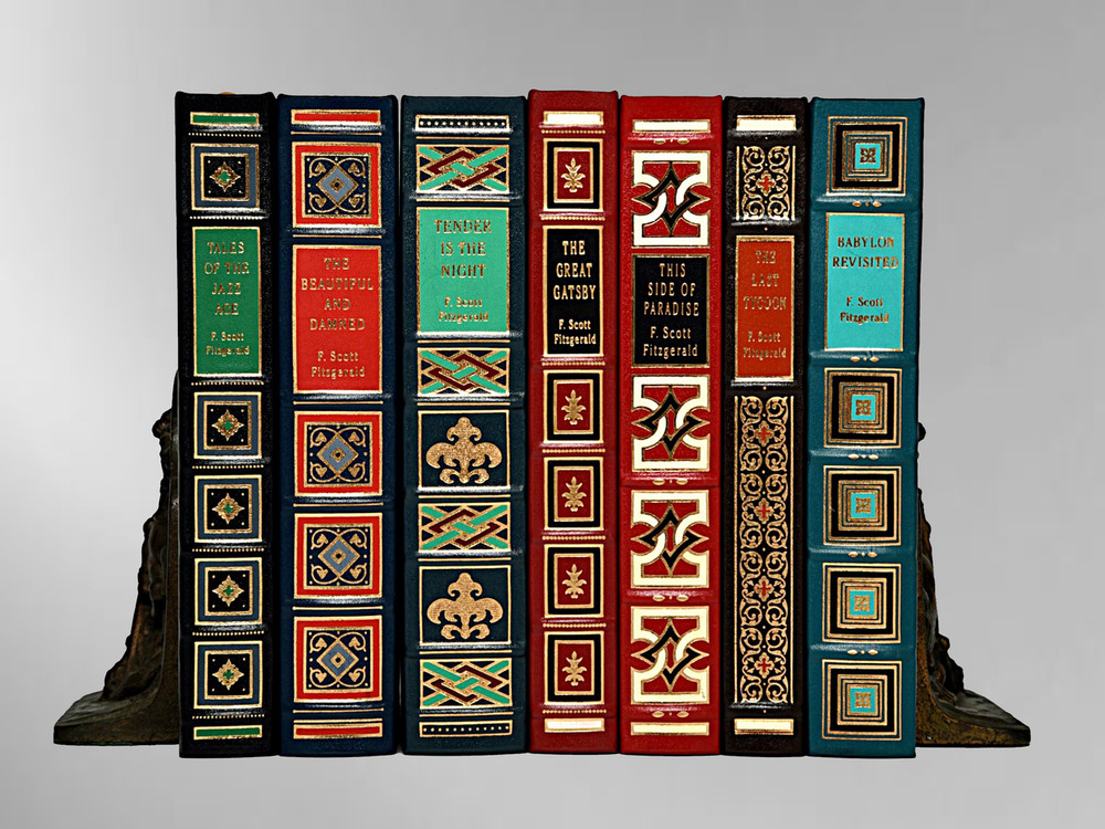 The Great Gatsby Leather Bound Book