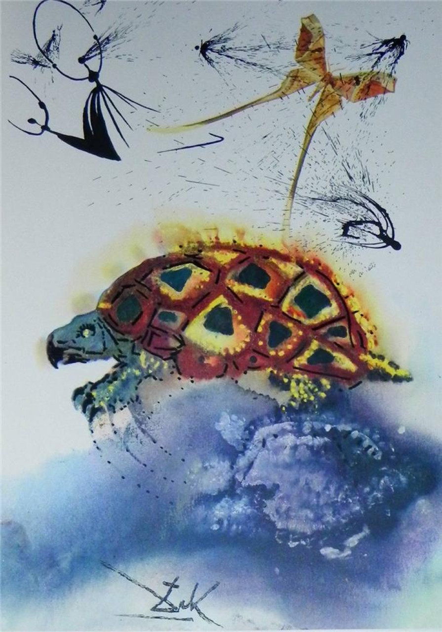 Alice in Wonderland, Dali Illustrated and Signed Limited Edition, Mint Condition