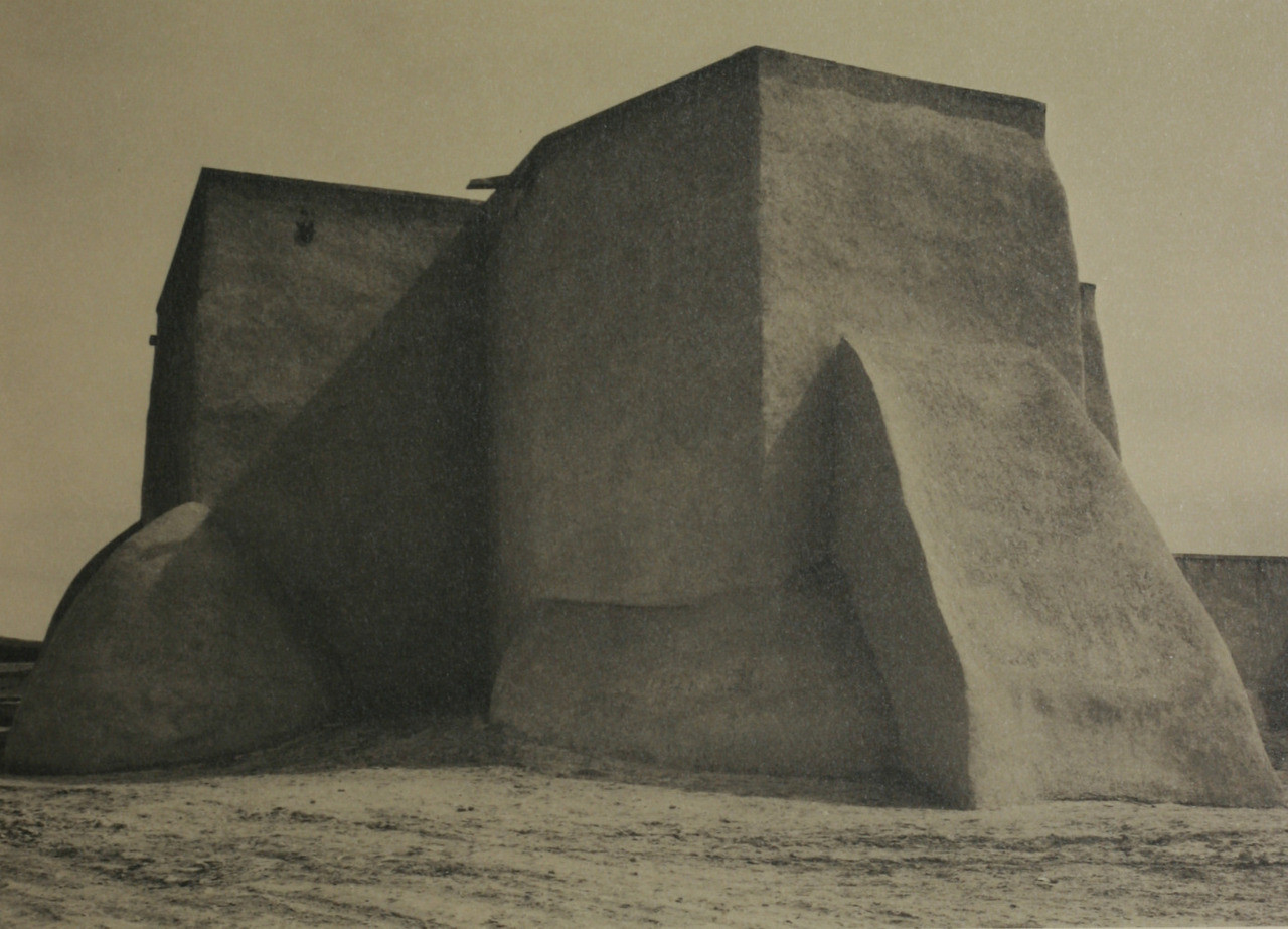 Taos Pueblo by Ansel Adams, Signed Limited Edition