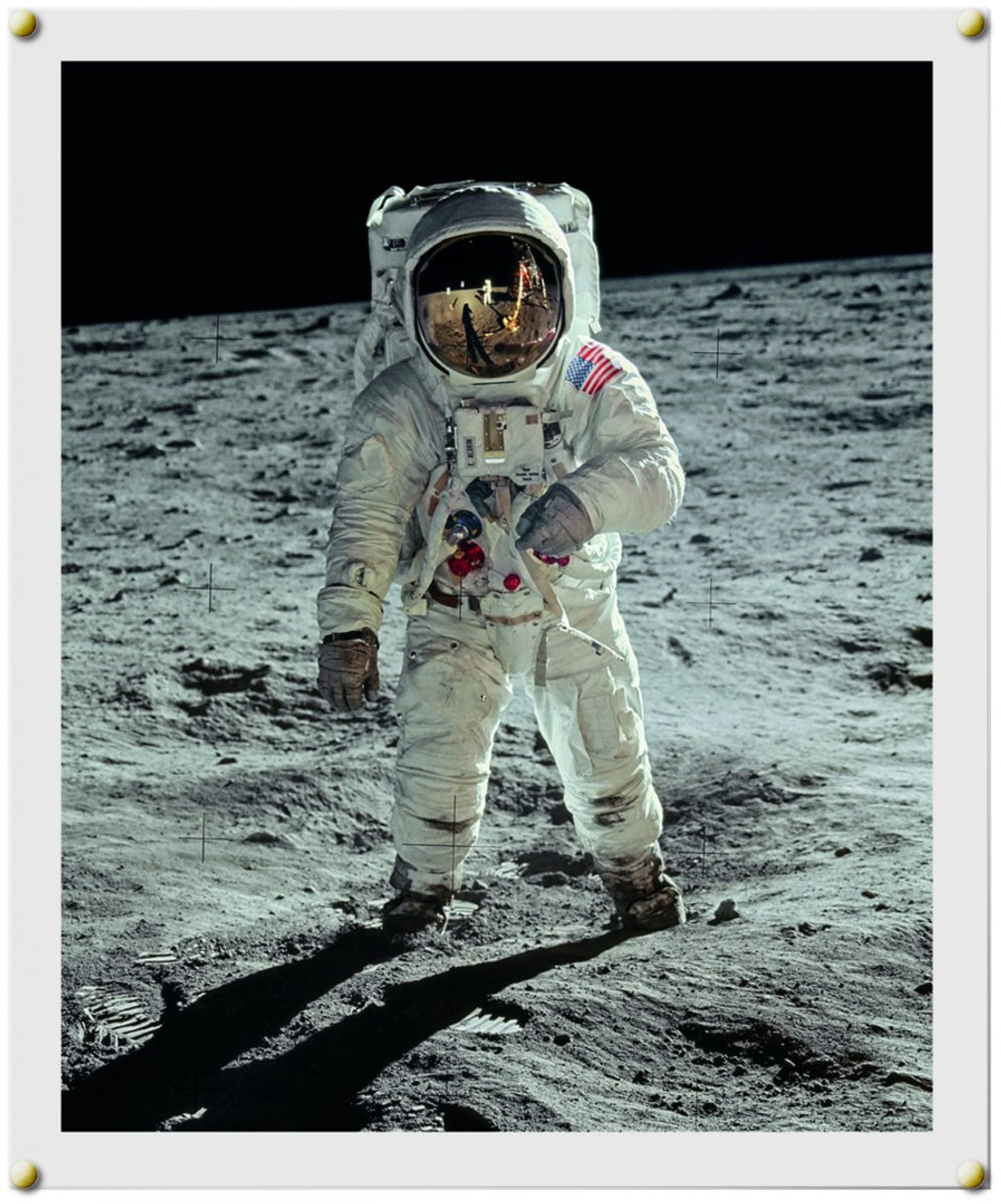 Moonfire by Norman Mailer, Includes Signed and Framed Print by Buzz Aldrin