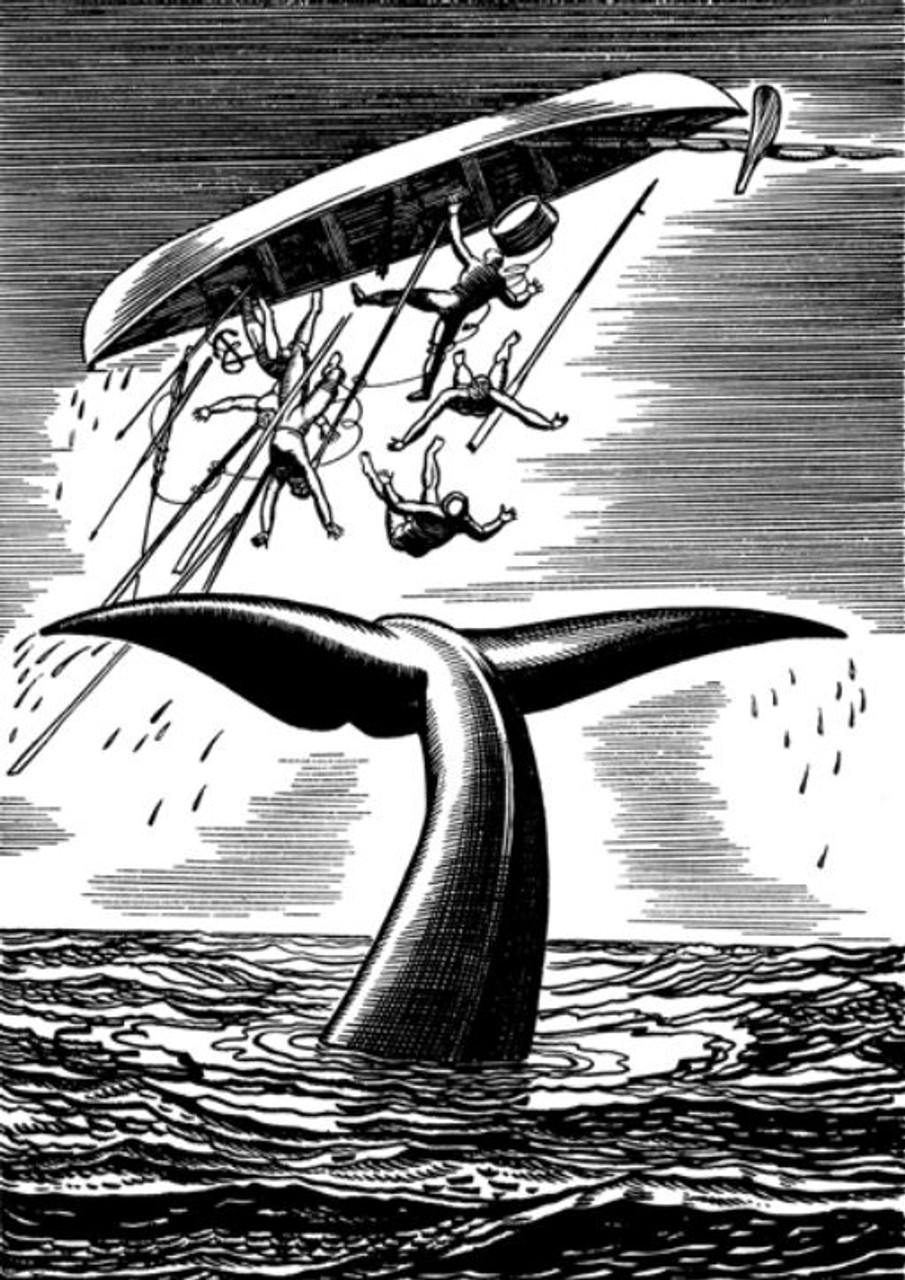 Moby Dick by Herman Melville, Illustrated by Rockwell Kent, Limited Edition