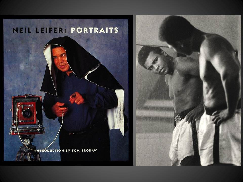 Portraits by Neil Leifer, Signed Limited Edition with Signed Print, 5 of 100