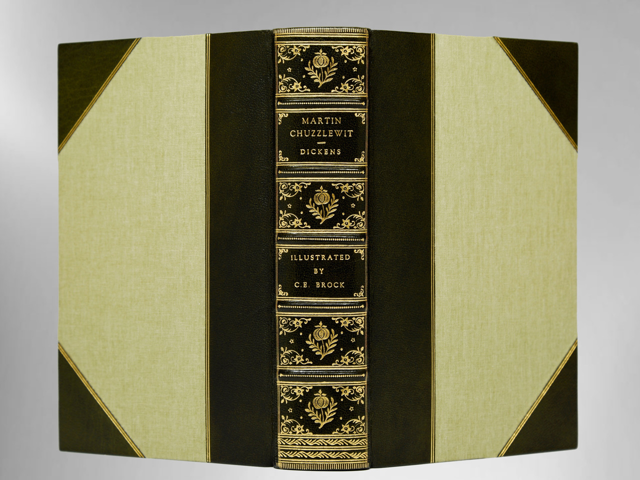 Martin Chuzzlewit By Charles Dickens, Illustrated By Ce Brock, Sims  Binding
