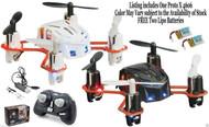 ESTES PROTO X 4606 Nano RTF R/C Quadcopter w/2.4Ghz controller + 2 Free Packs