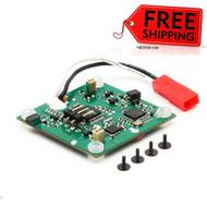 Blade 180 QX 5-in-1 Ctrl Unit, RX/ESC/Mix/Gyros/Ch6: HD w/ Black hardware 7401A