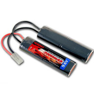 Tenergy 9.6V 2000mAh Airsoft Battery Butterfly Nun-chuck Small F Tamiya #11419