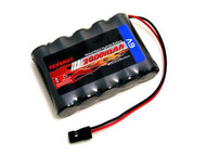 6V 2000mAh Side-by-Side RX Receiver NiMH Battery Pack Futaba Hitec JR