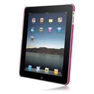 Latest Rubberized SnapOn Cover for Apple iPad - Hot Pink # 11157