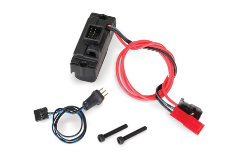 traxxas 8028 led power supply regulated 3v 0 5 amp 3in1 wire rh nzhobbies com wiring harness kits for boat trailers wiring harness kits for 6600 ford tractor
