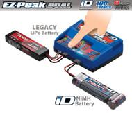 Traxxas 8amp EZ-Peak Plus 100W Dual Battery Charger 5-8 Cell NiMH / 2S-3S LiPo