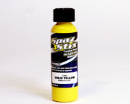 New Spaz Stix SZX12400 SOLID YELLOW Airbrush Paint for R/C Lexan Body : 2oz