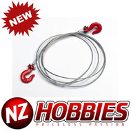 NZHOBBIES 1/10 RC Rock Crawler Accessories Steel Wire With Hooks