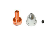 GAUI 500X PROP ADAPTER AND SPINNER SET (FOR 3MM SHAFT)