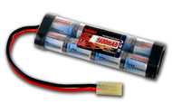 Tenergy 9.6v 1600mAh NiMH Mini Flat Airsoft AEG Gun Rifle Mini Tamiya Battery